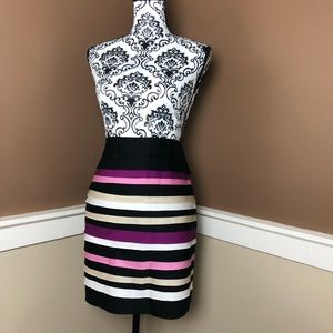 WHBM Multicolored Tiered Size 2 Skirt
